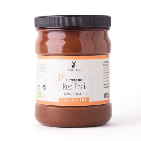 BIO Red Thai Currypaste Becher 1.1 kg | Rohners Online Hofladen